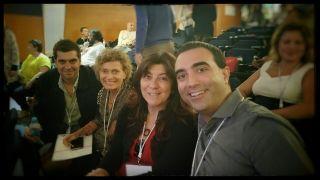 Asistentes de Toastmasters Málaga al Concurso Nacional Madrid 2015
