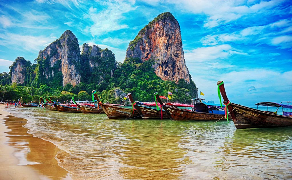 Top Thailand Destinations. Photo of Railay Beach, Krabi