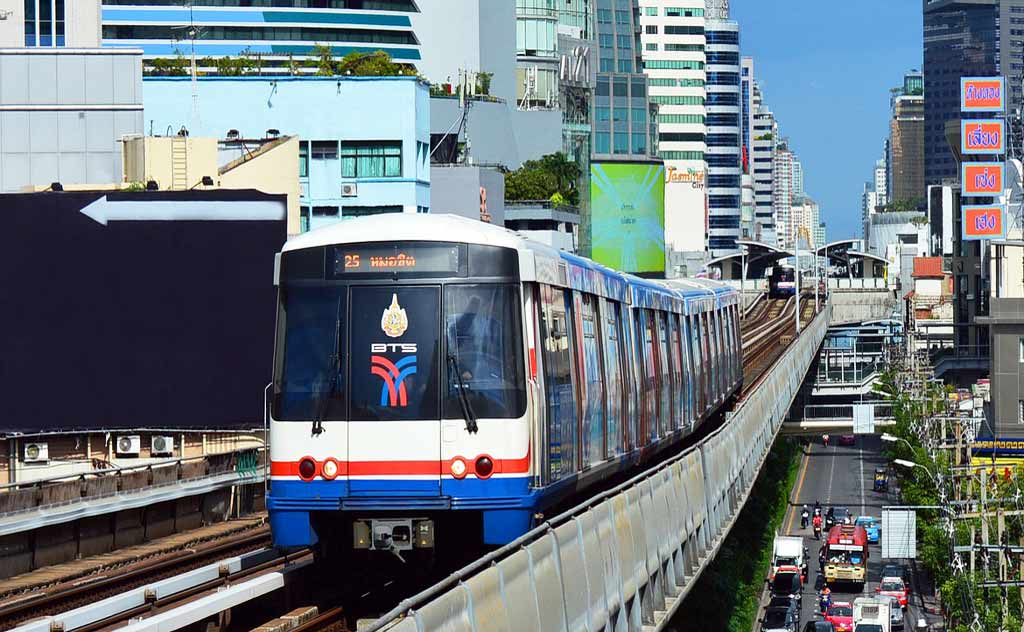 Bangkok Skytrain - An efficient way to commute in Bangkok