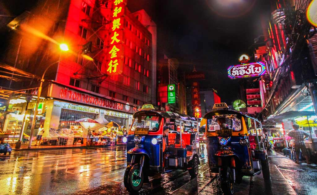Tuk-tuk is a fun way to commute in Bangkok