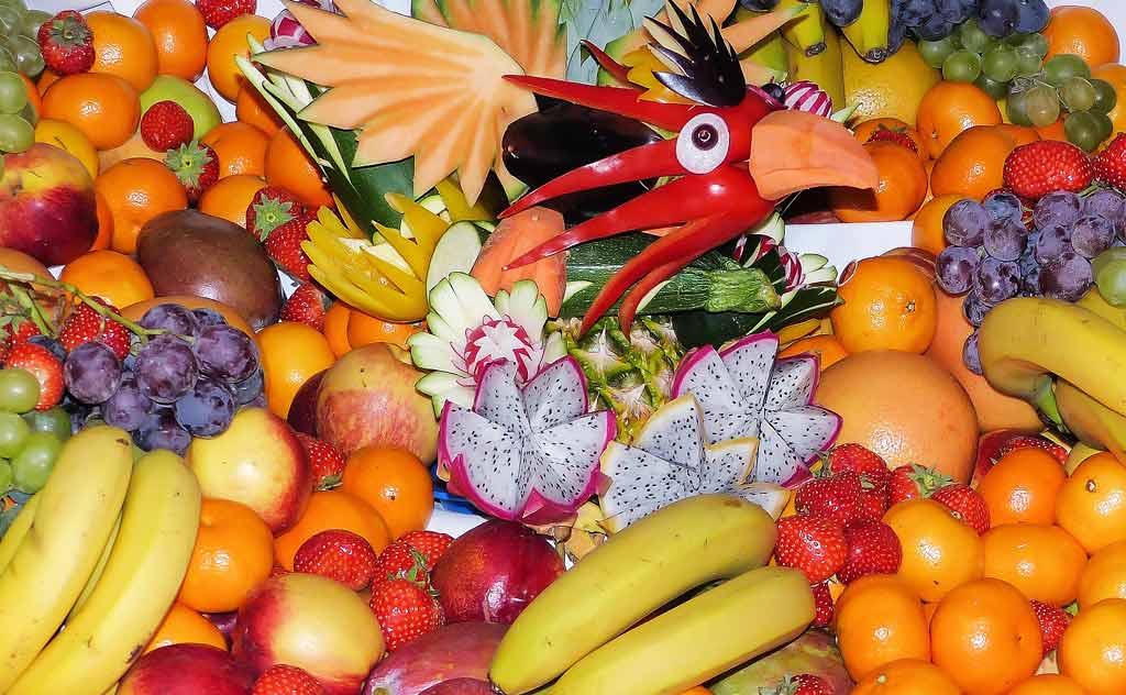 Fresh Tropical Thai Fruits