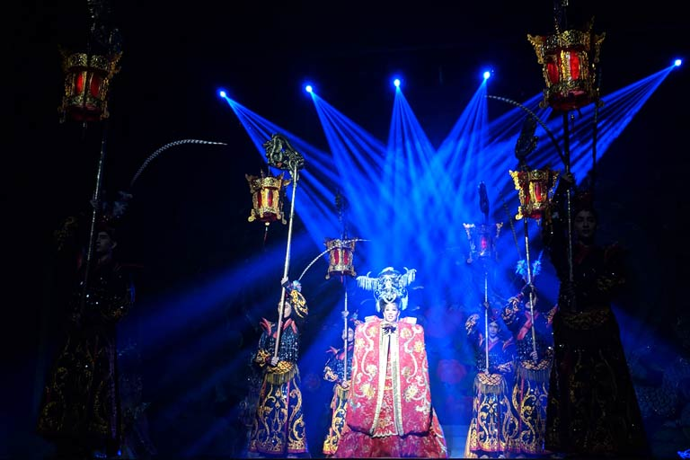 Sets of Alcazar Show in Pattaya
