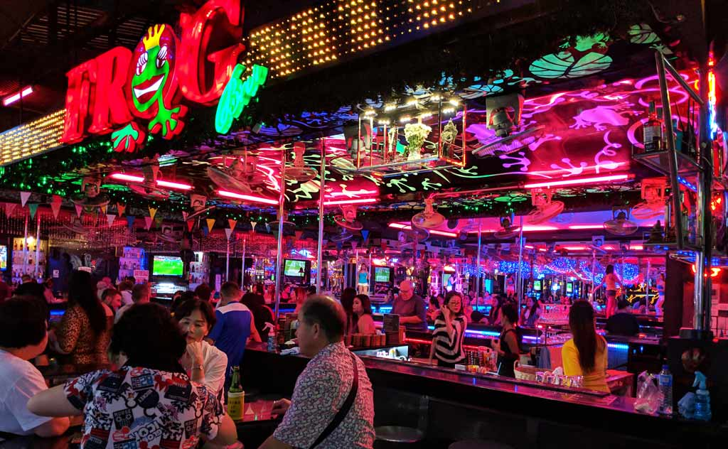 Frog Bar at the Walking Street in Pattaya