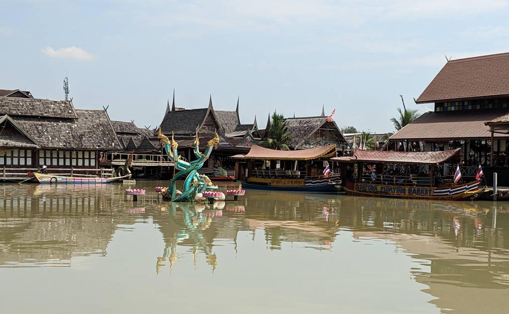 Four Regions Floating Market in Pattaya, Thailand