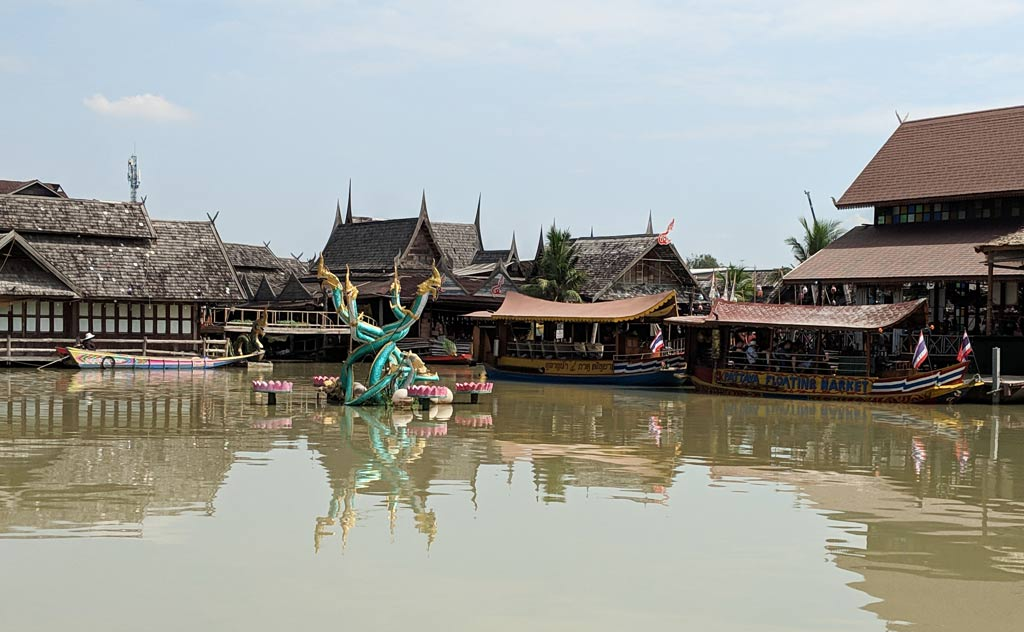 Four Regions Floating Market in Pattaya, Thailand