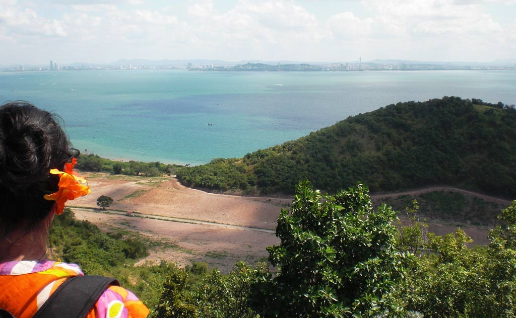 View of Pattaya from Koh Larn View Point