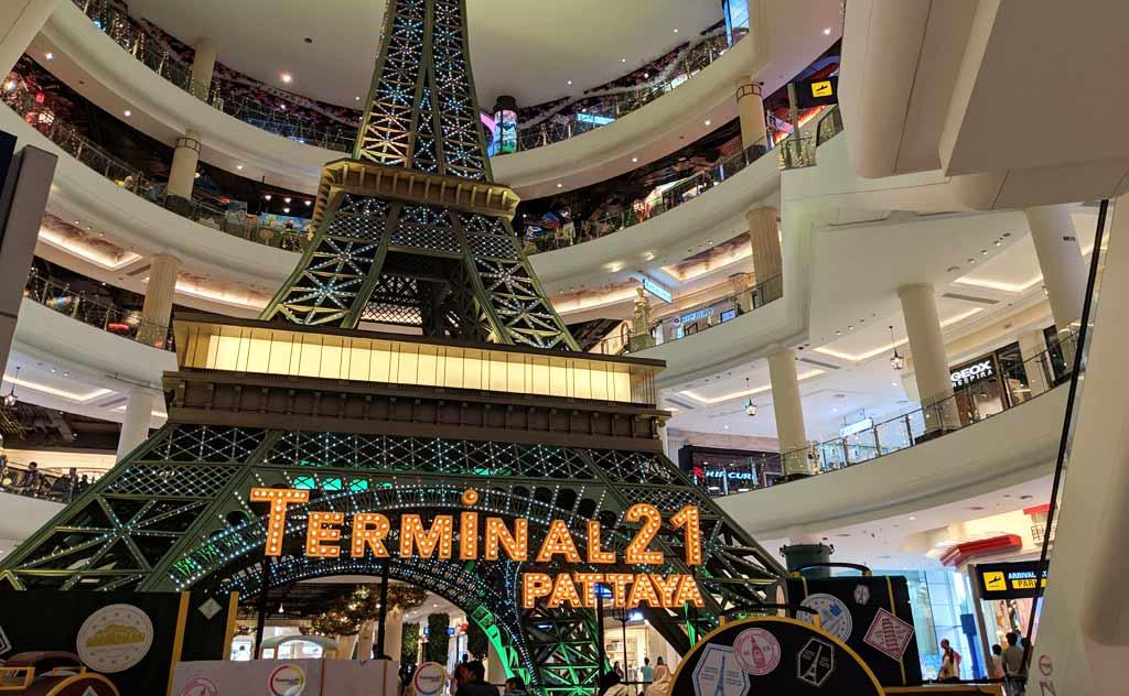 Terminal 21 Pattaya - Inside Pattaya's most famous shopping mall