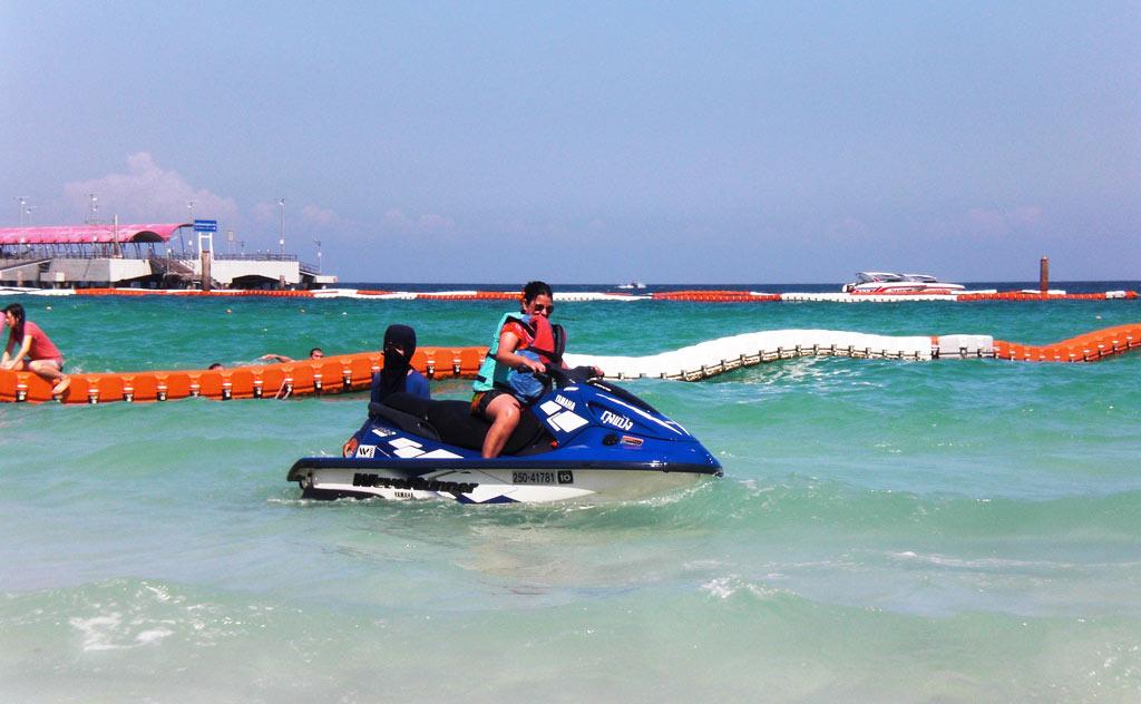 Mona Jet Skiing in Coral Island Pattaya