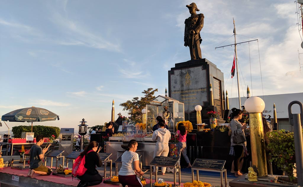 Shrine to Prince of Chumphon (Father of the Thai Navy)