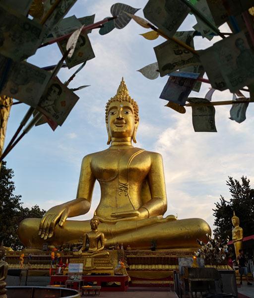 Big Buddha Pattaya at Wat Phra Yai Temple