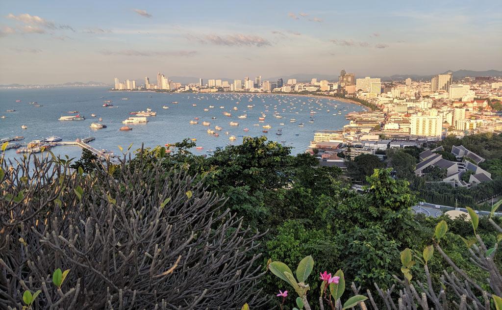 View of Pattaya Bay from Khao Pattaya View Point