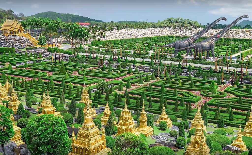 Nong Nooch Garden Pattaya. Thailand's world famous tropical botanical gardens