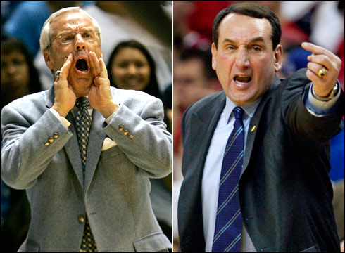 Coach Williams and Coach K