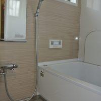 東播リフォーム、加古川市にて、浴室改修工事、タカラスタンダード、システムバス、、脱衣場改修、特殊サイズ