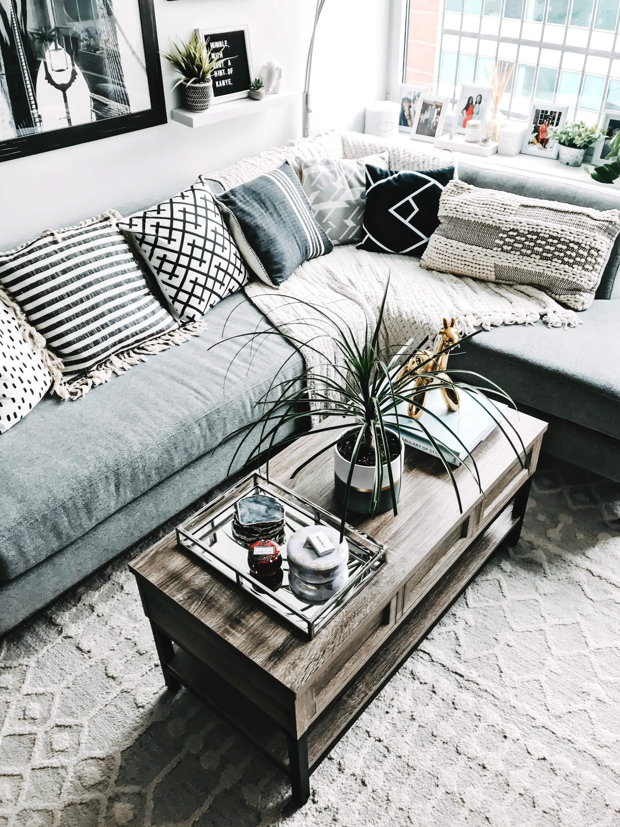 my living room revamp with raymour