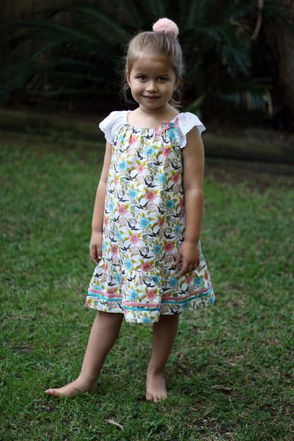 Детский сарафан девочке своими руками