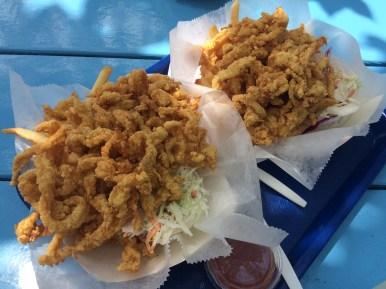 Fried Clams at Bob's