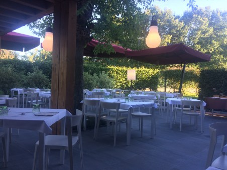 Patio of our restaurant