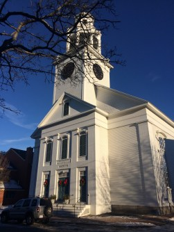 Quaint New Hampshire towns.