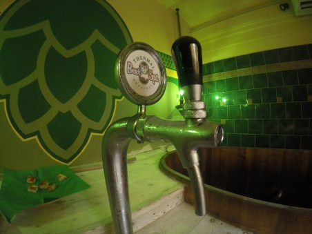 Beer Spa tap providing you with unlimited, and most importantly, cold beer.