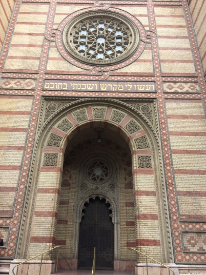 Dohány Street Synagogue- The largest synagogue in Europe and second largest in the world.
