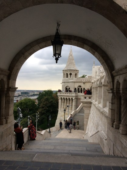 The Halászbástya or Fisherman's Bastion