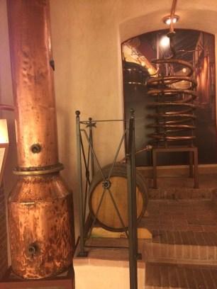 Poli Grappa museum in Bassano del Grappa.