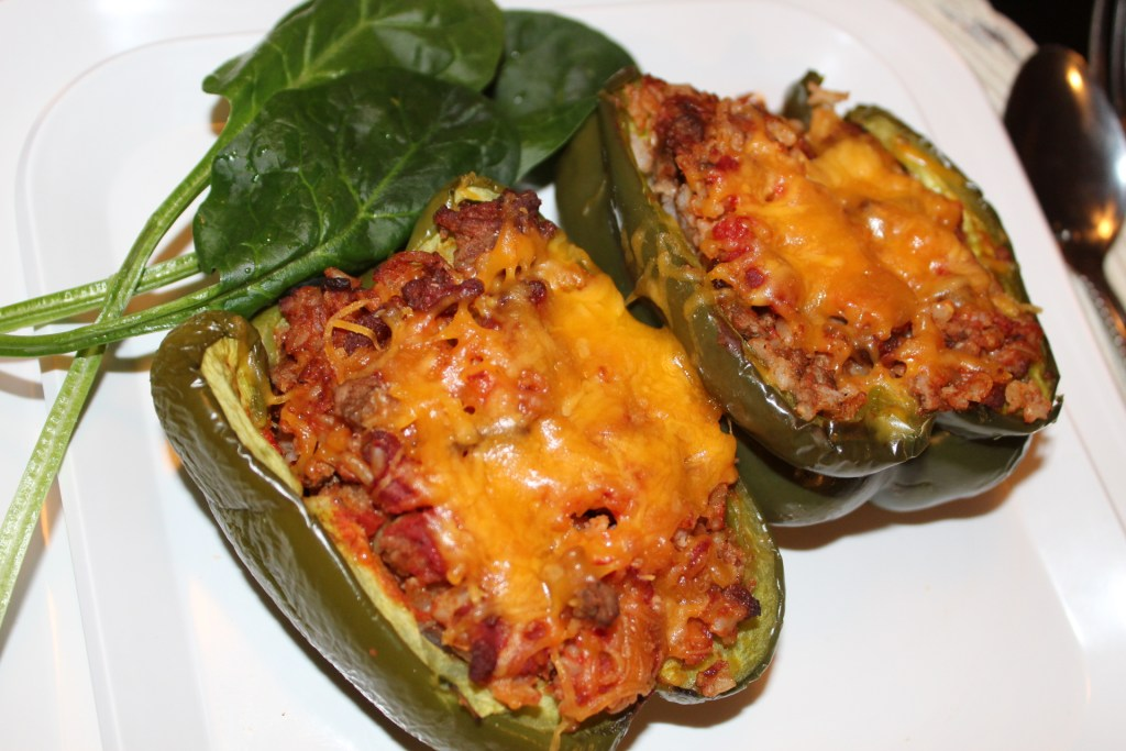 Stuffed Bell Peppers in 5 Steps