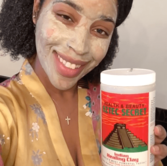 Aztec Indian Healing Clay Mask 💆🏽‍♀️
