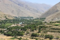 Panjshir Valley view from tomb