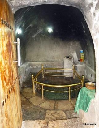 Temple of Lalish Baptism Pool