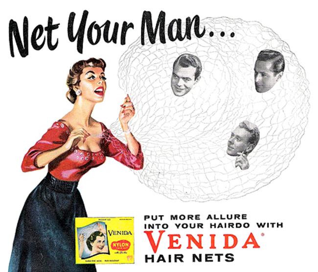 Venida hair net ad