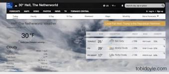donaldtrump weather