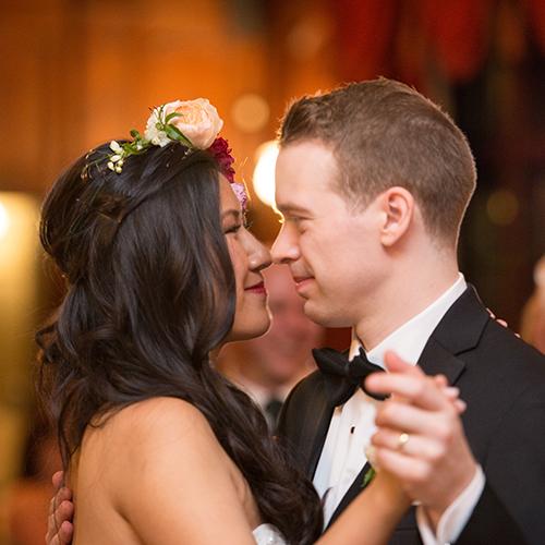 Melissa and Jason's Turner Hill Mansion Wedding