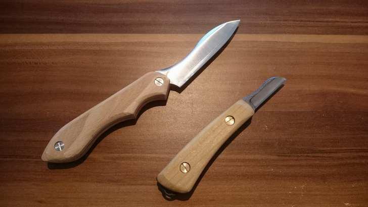 ナイフ小刀完成