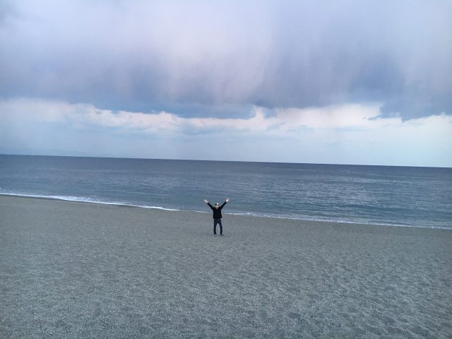 龍馬ゆかりの地 高知県の桂浜で撮影