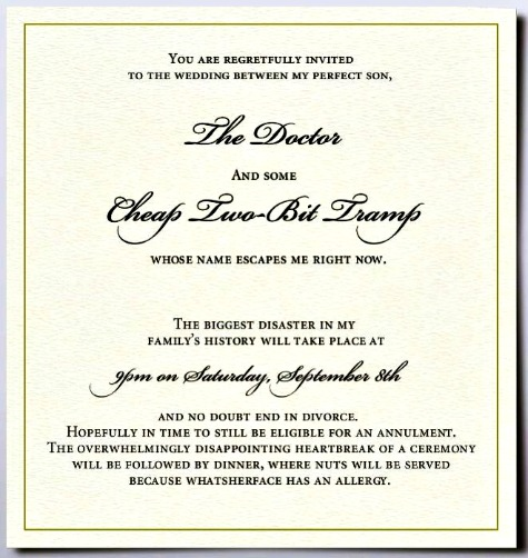 Harvey tobkes blog archive invitation picture of bride groom invitation tramp stopboris Image collections