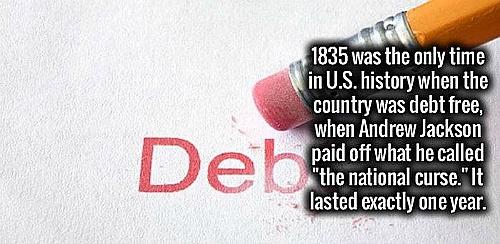 DEBT NONE