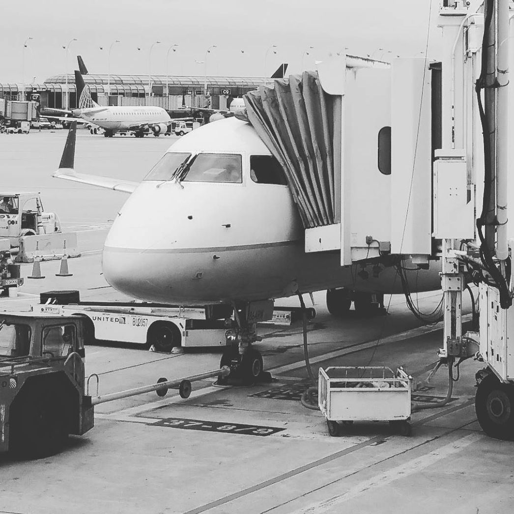 Ready to take off.