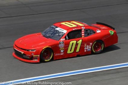 Stephen Leicht's No. 01 JD Motorsports Chevrolet Camaro SS. Photo Credit: Jonathan McCoy/RubbingsRacing.com