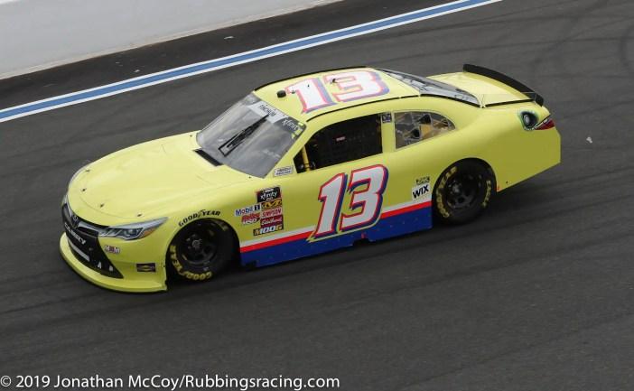 Chad Finchum's No. 13 Toyota Camry. Photo Credit: Jonathan McCoy/RubbingsRacing.com