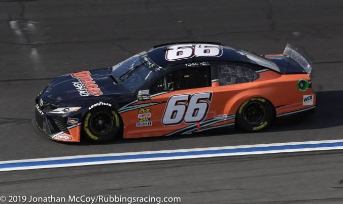 Timmy Hill's No. 66 Duracap Asphalt Toyota Camry. Photo Credit: Jonathan McCoy/RubbingsRacing.com