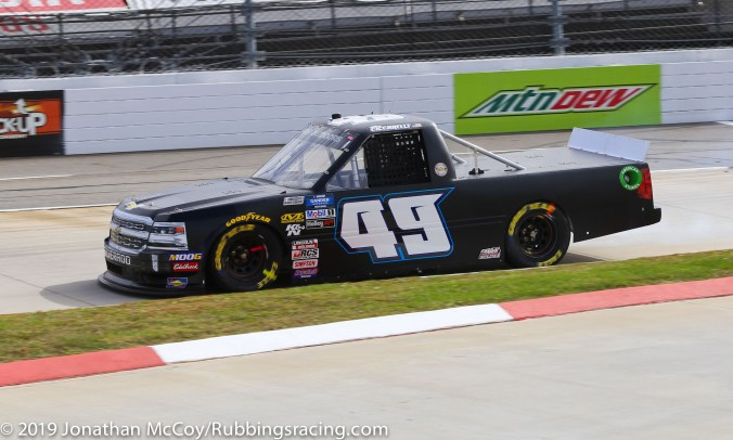 Ray Ciccarelli's No. 49 CMI Motorsports Chevrolet Silverado (Photo Credit: Jonathan McCoy / RubbingsRacing.com)