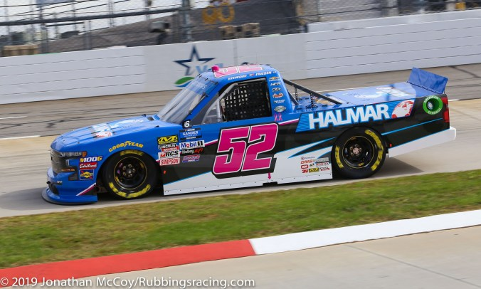 Stewart Friesen's No. 52 Halmar International Chevrolet Silverado (Photo Credit: Jonathan McCoy / RubbingsRacing.com)