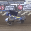 Video: Former NASCAR Driver Brad Sweet Takes Scary Tumble Down Backstretch at Lake Ozark Speedway