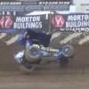 Video: Former NASCAR Driver Brad Sweet Takes Scary Tumble Down Backstretch at Lake Ozark Speedway