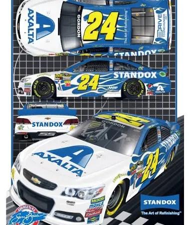 Jeff's 2013 AXALTA / Standox Chevrolet (PC : Sam Bass)