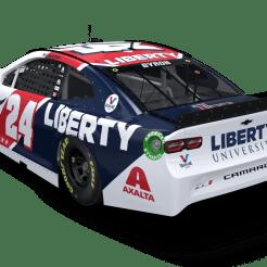 The 2021 Liberty University Camaro for William Byron (PC : Hendrick Motorsports)