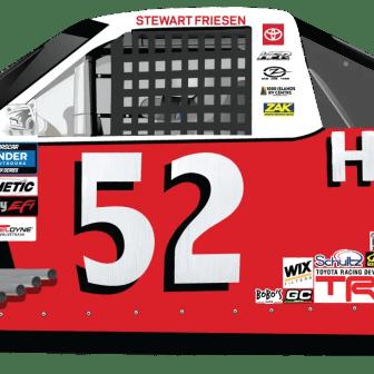 Stewart Friesen Throwback HALMAR Tundra for HFR(Design Credit : Kyle Williams)
