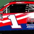 Michael Annett's No. 1 Pilot Patriotic Camaro (PC : Ryan Williams)